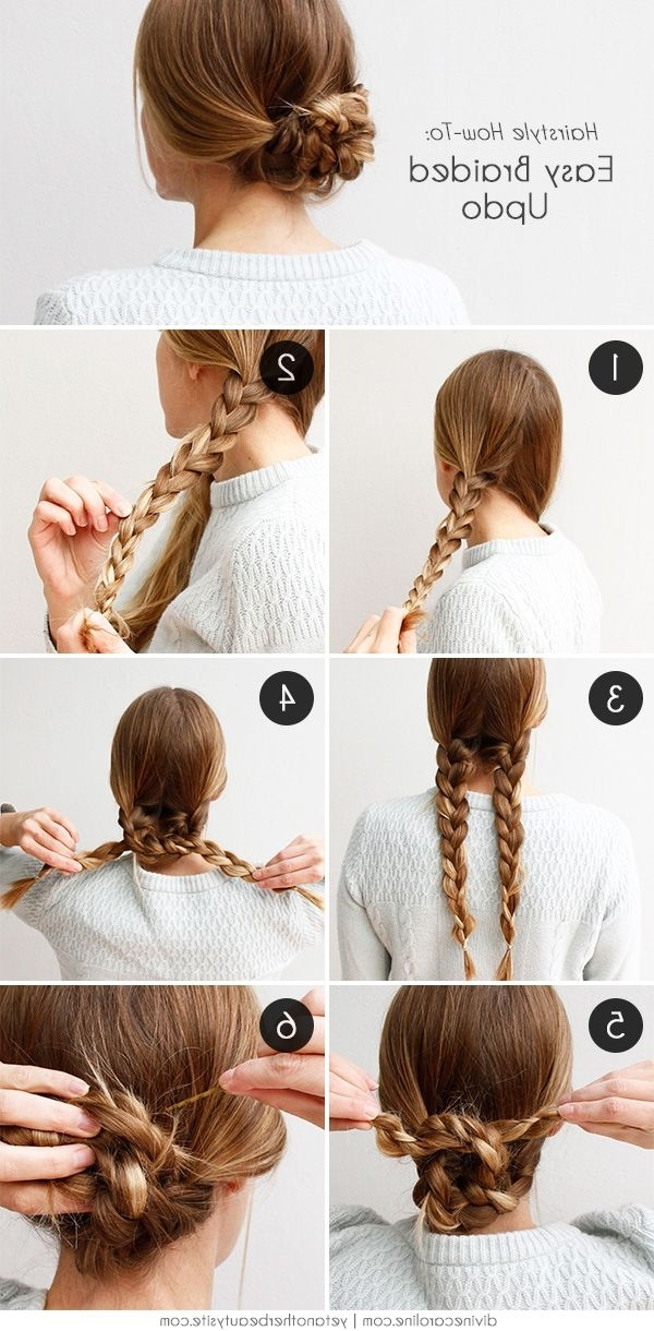 An Easy Braided Hairstyle For Any Occasion | Easy Braided Hairstyles With Regard To Most Recently Long Hair Updo Hairstyles For Work (View 2 of 15)