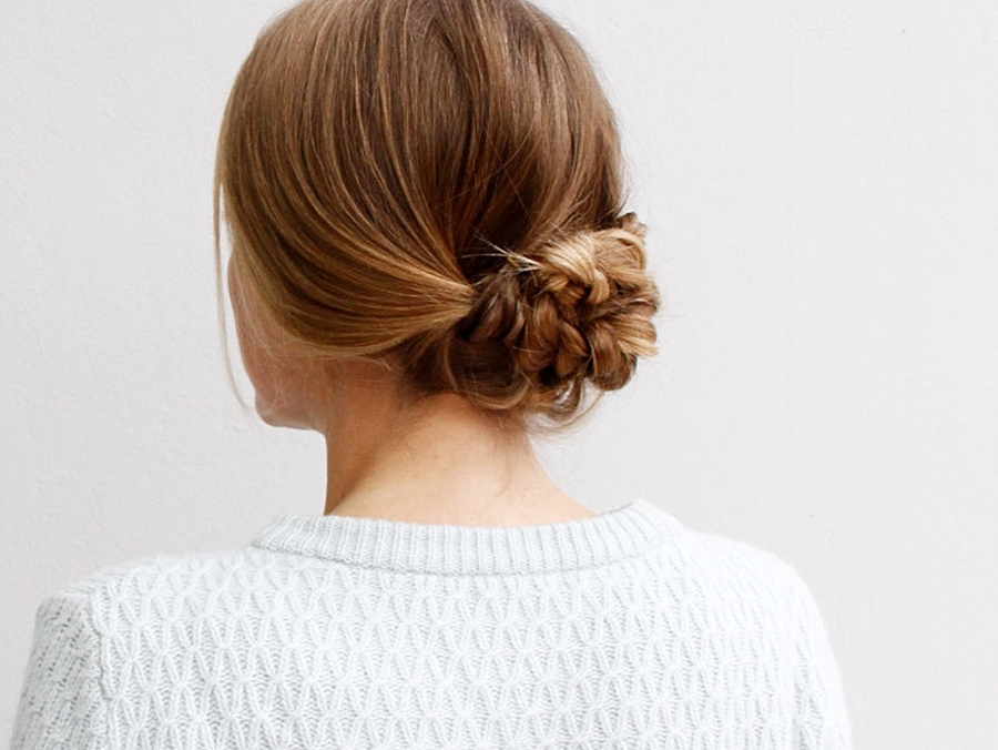 An Easy Braided Hairstyle For Any Occasion | More Intended For Current Easy Braided Updo Hairstyles (View 3 of 15)