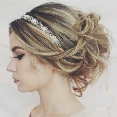 Ashley Williams Formal Updo With Beauty Brands Gifts #mygreathairday Pertaining To Most Recent Dressy Updo Hairstyles (View 8 of 15)