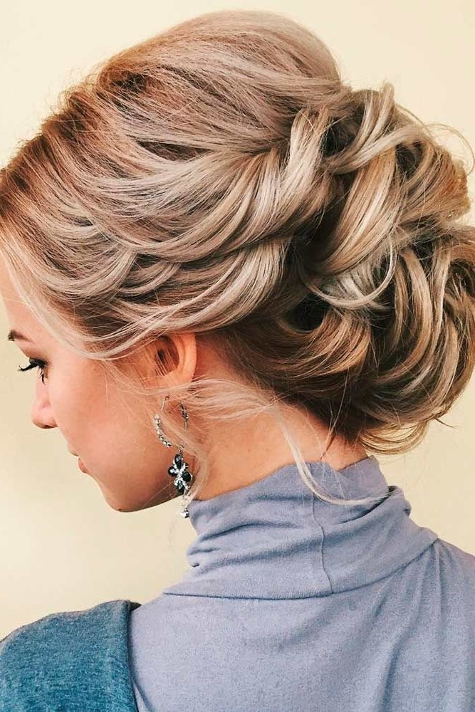 Awesome Formal Hairstyles Medium Length Hair Ideas – Styles & Ideas For Latest Updo Hairstyles With Bangs For Medium Length Hair (View 10 of 15)