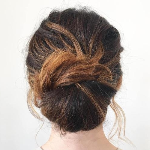 Awesome Up Due Hairstyles For Long Hair Gallery – Styles & Ideas Intended For Most Recently Long Hair Easy Updo Hairstyles (View 10 of 15)