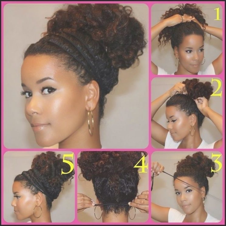 Back To School Hairstyles For Medium Curly Hair – Hairstylesunixcode In Recent Casual Updos For Naturally Curly Hair (View 5 of 15)