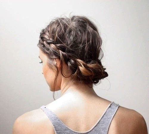 B??ut?ful Casual Hairstyles For Short Hair Hair Style Connections For Latest Everyday Updos For Short Hair (View 10 of 15)