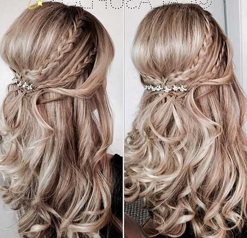 Beautiful Half Up Half Down Hairstyles | Hairstyles & Haircuts 2016 For Most Popular Long Hair Half Updo Hairstyles (View 8 of 15)