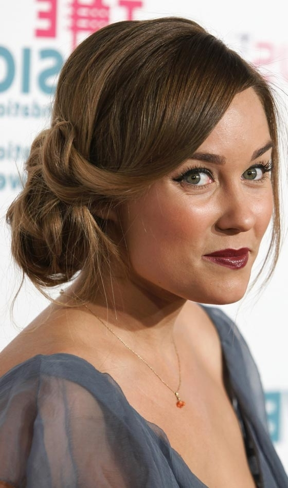 Beautiful Side Swept Updos To Try Today Regarding Current Side Updo Hairstyles (View 5 of 15)