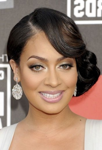 Beauty   African American Weddings, Updos And Africans Pertaining To Latest Updo Hairstyles For African American Long Hair (View 6 of 15)