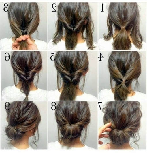 Best 25+ Easy Casual Updo Ideas On Pinterest | Long Hair Casual Within Newest Casual Updo Hairstyles For Long Hair (View 7 of 15)