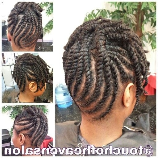 Best 25 Two Strand Twist Updo Ideas On Pinterest Natural Twist For For Most Up To Date 2 Strand Twist Updo Hairstyles (View 11 of 15)
