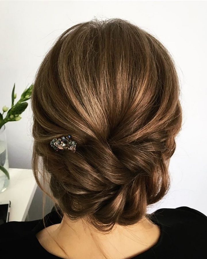 Best 25 Wedding Updo Hairstyles Ideas On Pinterest Long Hair Updos Within Recent Long Hair Updo Hairstyles For Wedding (View 14 of 15)