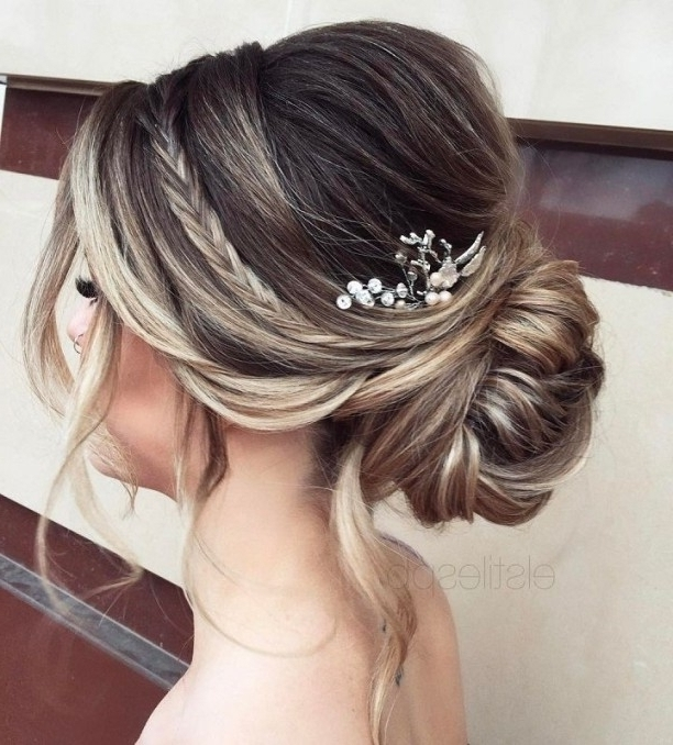 Best 25 Wedding Updo Ideas On Pinterest Wedding Hair Updo Prom For Newest Wedding Hair Updo Hairstyles (View 7 of 15)