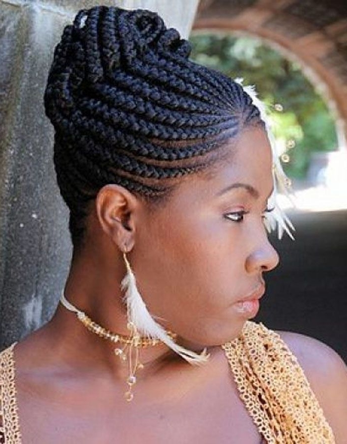 Best African Braids Hairstyle You Can Try Now | African American Regarding Most Popular African Hair Braiding Updo Hairstyles (View 7 of 15)