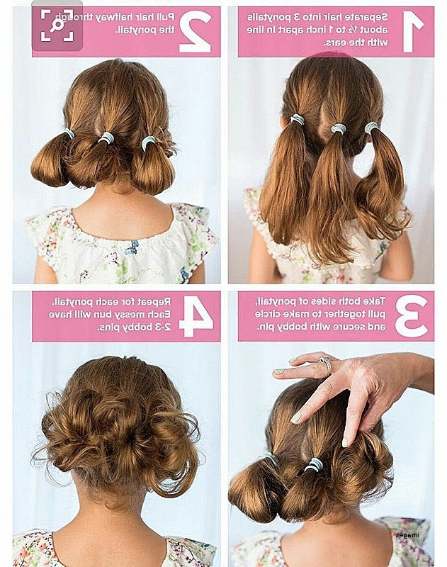 Best Cute Easy Hairstyles For School Short Hair Pictures – Styles With Regard To 2018 Cute And Easy Updo Hairstyles For Short Hair (View 9 of 15)