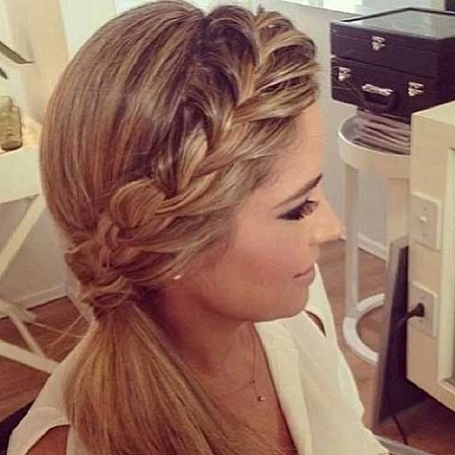 Best Hair Updos For Medium Length Hair | Hairstyles & Haircuts 2016 In Most Up To Date Ponytail Updo Hairstyles For Medium Hair (View 5 of 15)