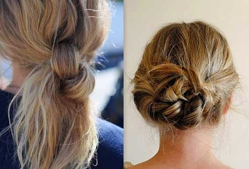 Best Hair Updos For Medium Length Hair   Hairstyles & Haircuts 2016 Inside Current Messy Updos For Medium Length Hair (View 7 of 15)