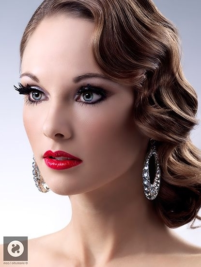 Best Hairstyle Software Free Download | Finger Waves, Finger And Makeup In Best And Newest Finger Waves Long Hair Updo Hairstyles (View 5 of 15)