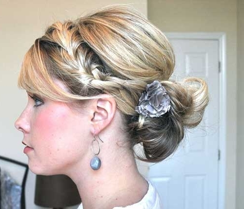 Best New Cute Updo Hairstyles   Hairstyles & Haircuts 2016 – 2017 Intended For Most Popular Pretty Updo Hairstyles (View 11 of 15)