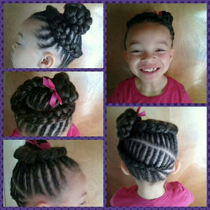Big Girl Hairstyles 47 Best Girls Hair Braids Images On Pinterest With Most Recently Children's Updo Hairstyles (View 7 of 15)