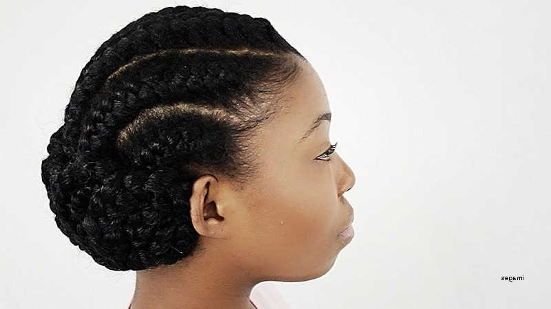 Black Natural Hairstyles Updos Inspirational Natural Hair Style Intended For Latest Natural Updo Hairstyles For Black Hair (View 8 of 15)