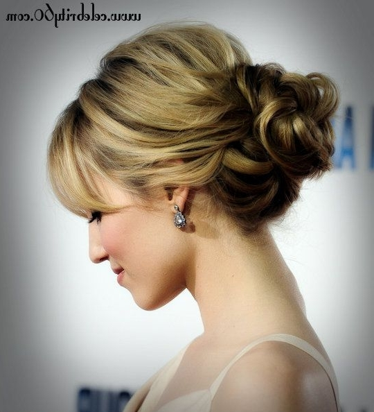 Displaying Gallery Of Updo Hairstyles For Black Tie Event View 3 Of
