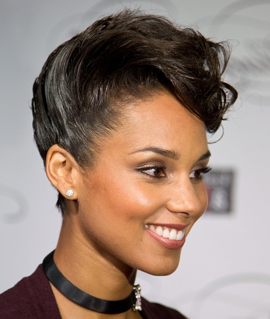 Black Updos For Short Hair | Find Your Perfect Hair Style With Recent Black Updos For Short Hair (View 2 of 15)