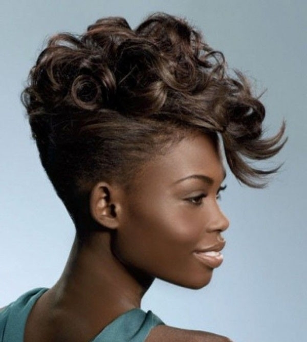 Black Weave Updo Hairstyles – Hairstyle For Women & Man For Newest Updo Hairstyles With Weave (View 5 of 15)
