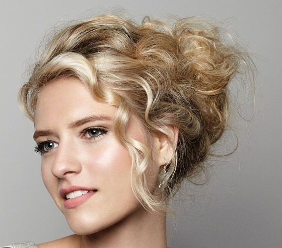 Blonde Bohemian Updo – Prom, Wedding, Formal – Careforhair.co (View 8 of 15)
