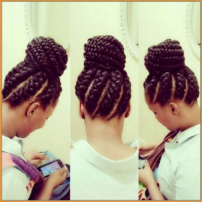 Braided Bun Black Hairstyles Braided Buns For Black Hair Download With Most Current Black Braided Bun Updo Hairstyles (View 8 of 15)