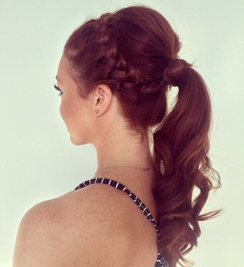 Braided Hair Updo Hairstyles For Long Thin Hair Throughout Recent Long Thin Hair Updo Hairstyles (View 10 of 15)