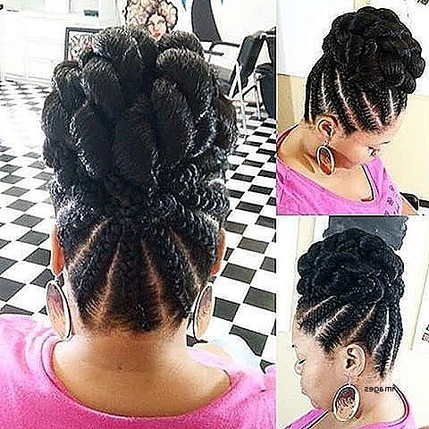 Braided Updo Hairstyles For Natural Hair Luxury Best 25 Black With Best And Newest Braided Updo Black Hairstyles (View 13 of 15)