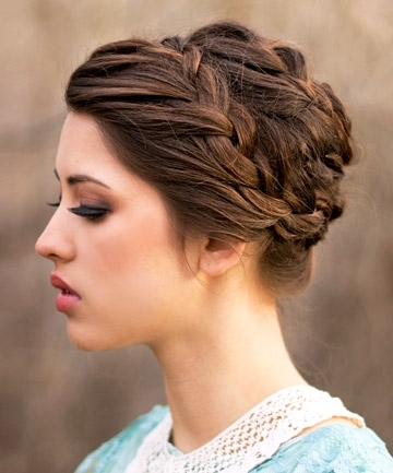 Braided Updos – Tutorials For Easy Braid Hairstyles Throughout Recent Easy Braided Updo Hairstyles (View 10 of 15)