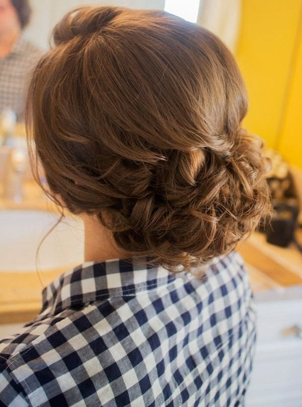 Braids Bun Hairstyle For Girls | Pagent Hair Does | Pinterest Pertaining To Most Popular Teenage Updo Hairstyles (View 6 of 15)
