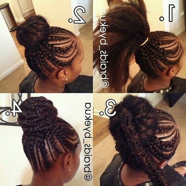 Braids Updo Hairstyles And Get Ideas How To Change Your Hairstyle In Newest Goddess Updo Hairstyles (View 6 of 15)