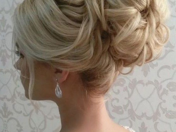 Bridal Updo Hairstyles For Long Hair Best 25 Wedding Updo Hairstyles Regarding 2018 Bridal Updo Hairstyles For Long Hair (View 7 of 15)