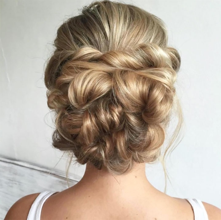 Bridal Updosheather Chapman Hair – Mon Cheri Bridals Inside Most Popular Bridal Updo Hairstyles For Long Hair (View 9 of 15)