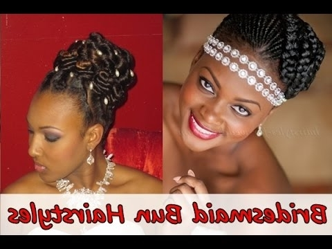 Bridesmaid Hairstyles, Bridesmaid Hairstyles Updo For African With Most Recently Updo Hairstyles For Black Bridesmaids (View 8 of 15)