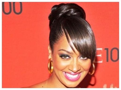 Bun Hairstyles For Black Women Buns Bangs   Medium Hair Styles Ideas With Regard To Most Recently Updo Hairstyles With Bangs For Black Hair (View 9 of 15)