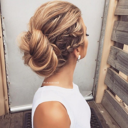 Bun Updo Hairstyles Awesome Best 40 Low Bun Updo Hairstyles Ideas On With Regard To Best And Newest Low Bun Updo Hairstyles (View 7 of 15)
