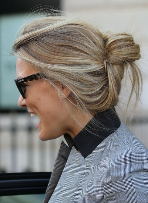 Photo Gallery Of Easy Casual Updos For Long Hair Showing 15 Of 15