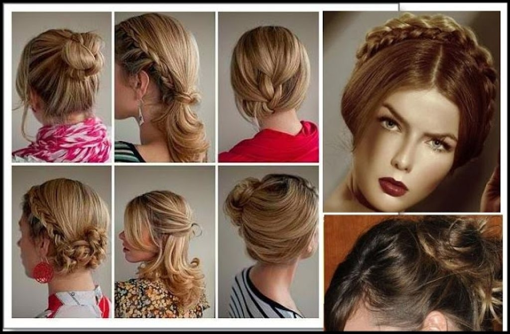 Casual Up Hairstyles For Long Hair Easy Casual Updos For Long Hair With Regard To Most Recent Easy Casual Updos For Long Hair (View 11 of 15)