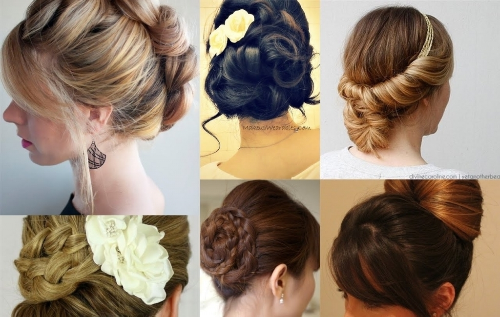 Explore Gallery Of Everyday Updo Hairstyles For Long Hair Showing 7