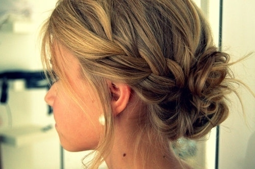 Check Out Wedding Hairstyles Low Messy Bun | Medium Hair Styles Within Latest Messy Bun Updo Hairstyles (View 8 of 15)