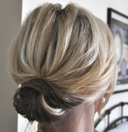 Chic Updo Hairstyles For Long Hair   Hair Styles   Pinterest   Updo For Most Recently Long Thin Hair Updo Hairstyles (View 9 of 15)