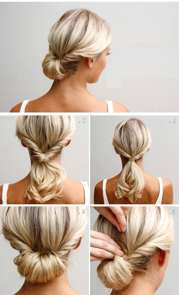 Chignon – ??? – ??? 291214 | Hair And Beauty | Pinterest In Newest Casual Updos For Shoulder Length Hair (View 4 of 15)