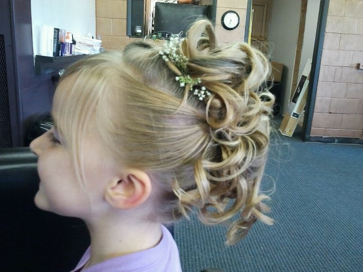 Children's Updo | Hair & Beauty | Pinterest | Updo, Hair Style And With Regard To Most Recently Children's Updo Hairstyles (View 8 of 15)