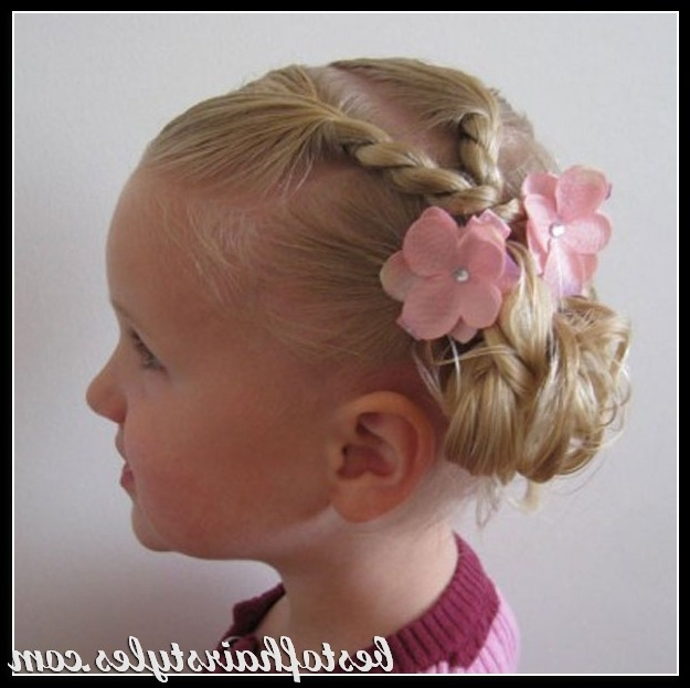 Childrens Updo! | Hair/updo's | Pinterest | Updo, Hair Style And With Regard To Current Children's Updo Hairstyles (View 9 of 15)