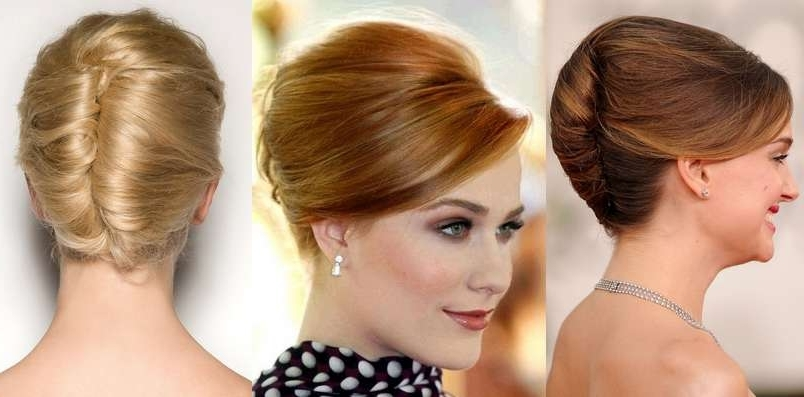 Christmas French Twist Hairstyle Pictures,christmas French Twist Regarding Best And Newest French Twist Updo Hairstyles (View 6 of 15)