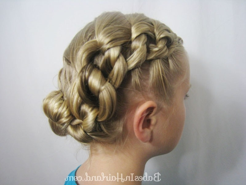 Chunky Knot Updo – Babes In Hairland With Regard To Most Popular Knot Updo Hairstyles (View 15 of 15)