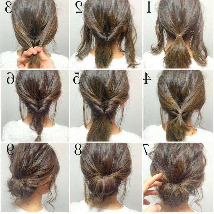 Consulta Esta Foto De Instagram De @chicwish • 3,299 Me Gusta Inside Most Popular Easiest Updo Hairstyles For Long Hair (View 6 of 15)
