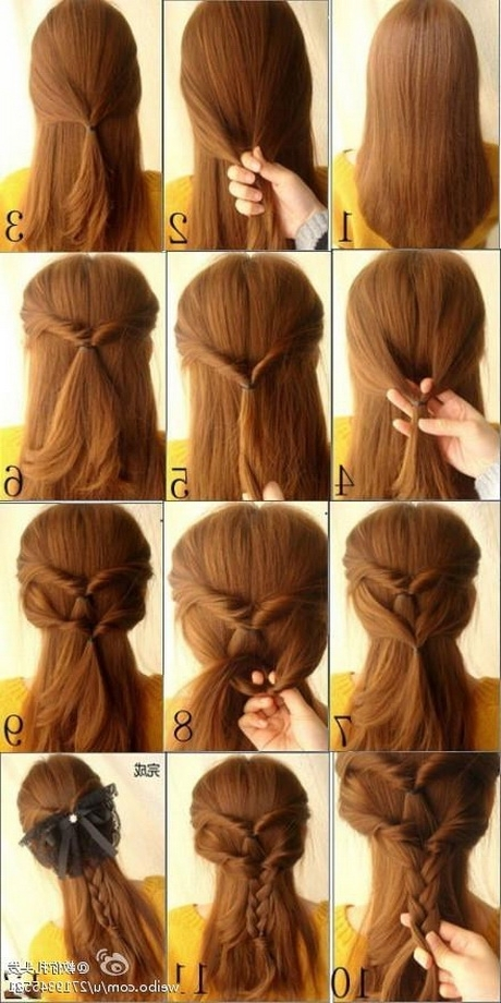 Cool Easy Hairstyles For Long Hair | Justswimfl Pertaining To Current Easy Updos For Extra Long Hair (View 9 of 15)