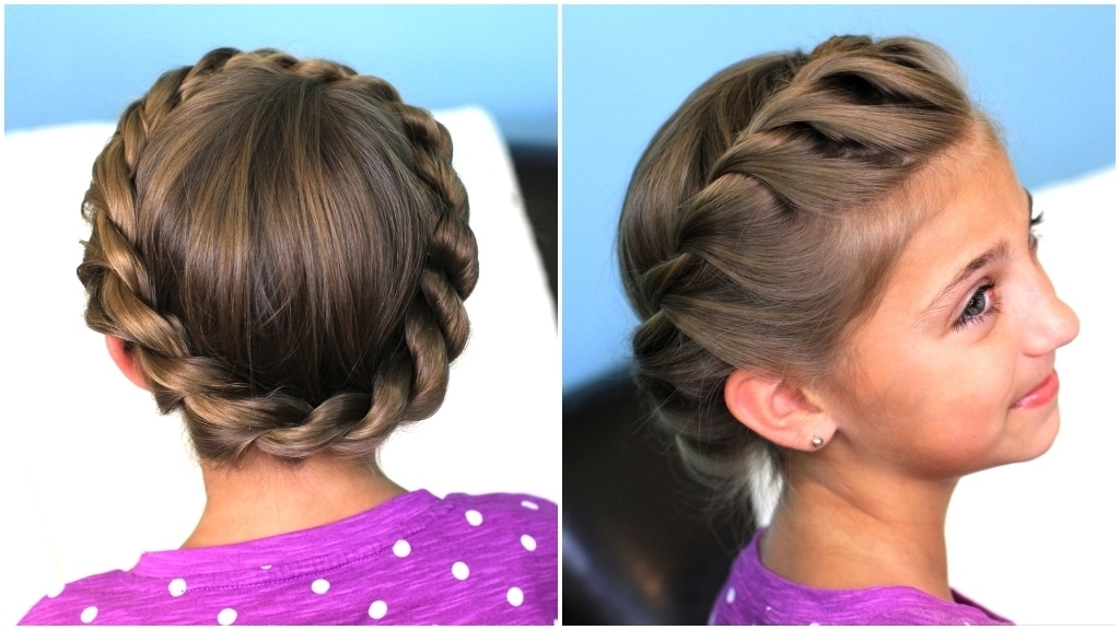Cool Updo Hairstyles How To Do Fancy Rope Braid Half Updo Hairstyle Regarding Most Popular Cool Updo Hairstyles (View 5 of 15)